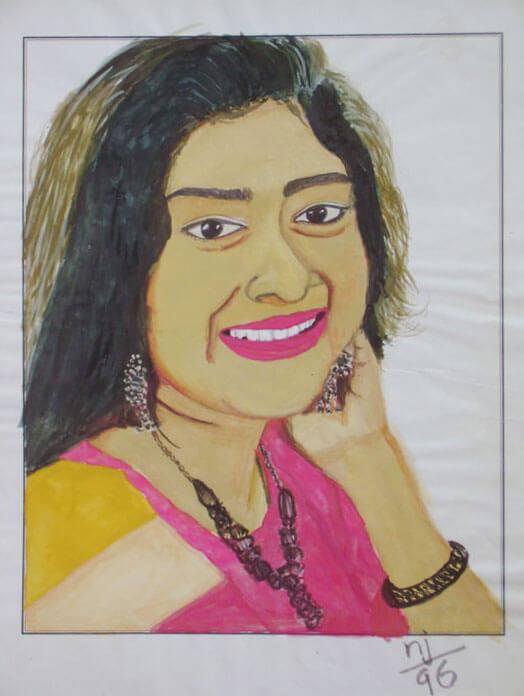 Chippi, Malayalam actress