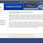 Gemini website layout